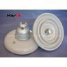 China Isolador de suspensão branco do disco do ANSI 52-3 para linhas elétricas da distribuição wholesale