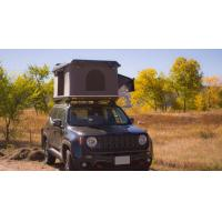 Windproof OverRoam Automatic Roof Top Tent With Aluminum Telescopic Ladder