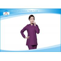 China Nurse Classical Cotton Medical Scrubs Uniforms Suit Green Polyester Designs wholesale