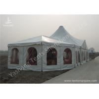 China Combined A-frame and High Peak Luxury Wedding Tents, Hard Aluminum Alloy Frame wholesale