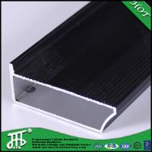 China black powder coating aluminum profile cabinet for window and door aluminum frame aluminum wholesale