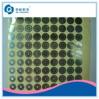 China Personalized Hologram Security Stickers , Medicine Anti Tamper Label Sheets wholesale