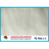 Buy cheap Spunlace Non Woven Fabric Roll Mesh Pattern Hygien Cleansing Use 50GSM from wholesalers