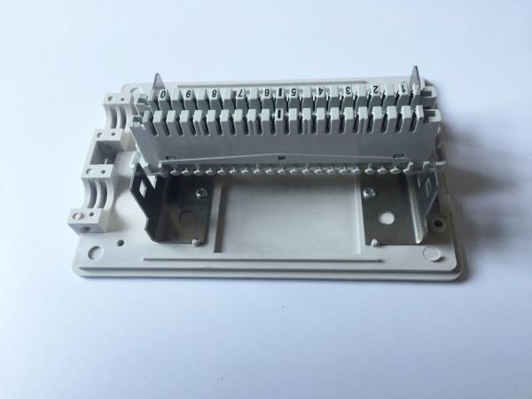 Quality Caja de distribución de cable interior 10 pares del teléfono del módulo del tipo del montaje superficial for sale