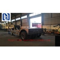China 2/3/4Axles Low Flatbed Trailer With Jost Landing Gear And Fuwa Axle, 40t-100t Payload Capacity on sale