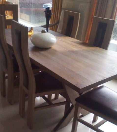 Quality sell  period furniture oak  dining hall   table for sale