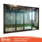 China Aluminum Sliding Glass Patio Doors , Modern Design Custom Sliding Glass Doors wholesale