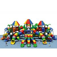 China KAIQI Fun Play Systems Playground Equipment Age Range 3-15 Years With Large Slide wholesale
