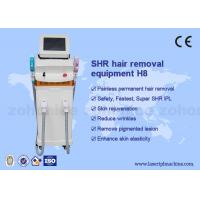 China New Designed Vertical 2000w permanent SHR Hair Removal Machine wholesale