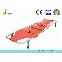 China Foldway Chair Stretcher Emergency Rescue Stair PVC Stretcher With Two Function Wheels ALS-SA119 wholesale
