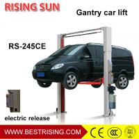 China Double cylinder electric unlock two post used car lifts for sale wholesale