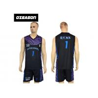 China High Quality Sublimation Printing Reversible Training Basketball Uniform For Boys wholesale