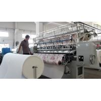 China 2.4 Meters Automatic Quilting Machine With Thread Break Detectors wholesale