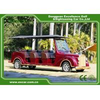 China Luxurious Red G1S8 Electric Classic Cars 4 Row For 8 Passenger wholesale