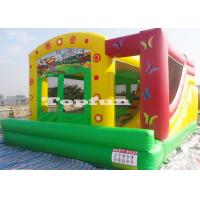 China Doll House Inflatable Jumping Castle For Girls Party Lead Free PVC Tarpaulin wholesale
