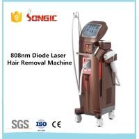China Songic Vertical Style 808nm Home Laser Hair Removal Machines White wholesale