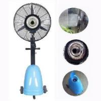 China Centrifugal Outdoor Mist Fan Blue Tank on sale