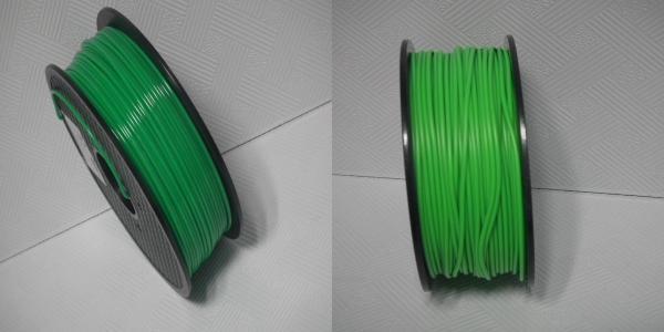 Quality Multicolor 3D Printer Filament , Good Toughness 1.75 Mm 3D Printer Filament for sale