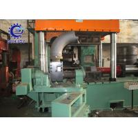 Stainless Steel / Carbon Steel Elbow Making Machine Processing Size 4-10 For Pushing Elbow Cold Forming CE Approved