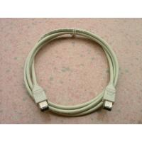 China Beige Mini Firewire Cable 1394A 6 Pin Male To 6P Male 3 Meter With PNP Function on sale