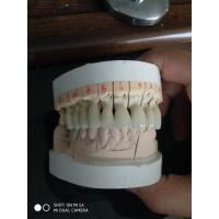 Buy cheap 1M1 Vita Shade Full Zirconia Dental Crown Lab Fabricating Dentures To Worldwide from wholesalers