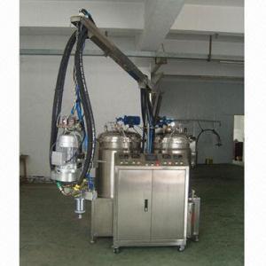 China Crafts/toys polyurethane bi-component PU foaming machine, 4.5kW engine power on sale