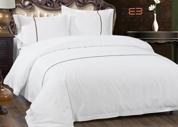 Quality Hotel Textile Products Hotel Bed Linen / Hotel Bedding Sets King Different Color for sale