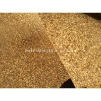 China Cork Rubber Flooring Underlay Mat Gasket Materials Rubber Sheet Used For Gym Yoga Mat on sale