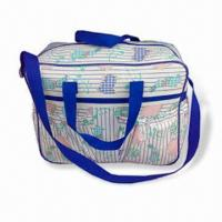 China Diaper Bag, Made of Polyester, Measuring 39.5 x 13 x 28cm, Customized Designs are Welcome wholesale