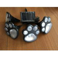 Buy cheap Novelty Solar Powered Animal Paw String Lights , Animal Footprint String Lights from wholesalers