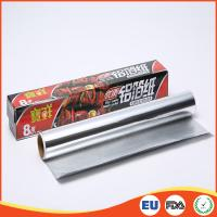 China Household Aluminium Foil Roll Paper Food Grade For Cooking / Baking SGS Standard for sale