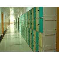 China Anti Corrosion Plastic School Lockers 4 Comparts 1 Column For Water Baths wholesale