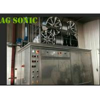 China 4500W Industrial Sonic Cleaning Tank / Tyre Washing Machine With Pneumatic Lift wholesale