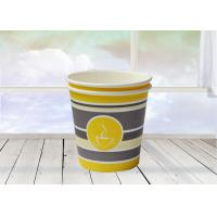 China Hand Made Single Wall Hot Drink Cups With Custom Printing Logo wholesale