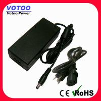China 60W 12V 5A Universal AC Adapter For LED Lamps , European Plug Adapter wholesale