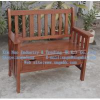 China Wooden Raven Storage Bench、Wooden chair, wooden outdoor chairs, wooden double chair on sale