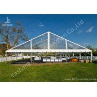 China Clear PVC Fabric Top Aluminum Alloy Outdoor Luxury Wedding Tents wholesale
