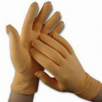 China Moisturizing Gloves, Made of Cotton and Spandex on sale