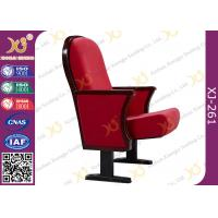 China Wooden Back  Lecture Hall Chair Elegant Concert Hall Auditorium Seating For Church wholesale