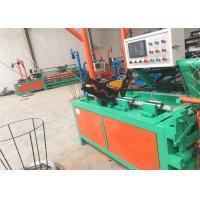 China Automatically Double Wire Chain Link Fencing Machine Diamond Mesh Weaving Machine on sale