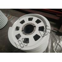 China Silver Wire Rope Drum Spray Zinc Primer Finished For Lifting And Crane wholesale