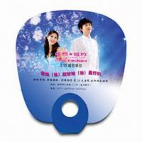 China Hand Fan for Promotional Purposes, Made of PP, Various Styles and Colors are Available wholesale