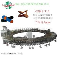 China PU shoe making machine automatic system save power and labor on sale