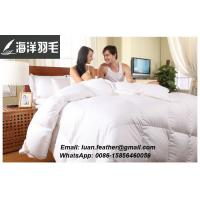 Washed White Duck Down and Feather Duvet,90% Duck For Home Made in Lu'an, Anhui Province, China