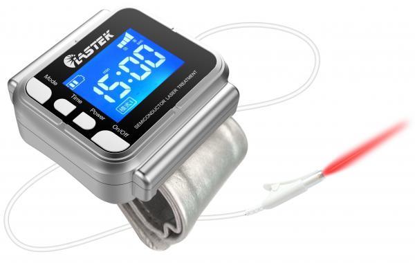 Quality Dispositivo cura do laser do uso home diário, relógio do monitor da pressão sanguínea com painel LCD for sale