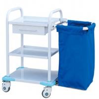 China Durable Medical Trolley Cart For Contaminant , Hospital Medical Trolley wholesale
