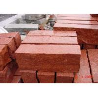 China Red Natural Paving Stones Tile For Stair Steps / Countertop Granite Material wholesale