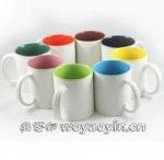 Export RUSSIA inside colors Firing LOGO ceramic mug custom LOGO 7102 mark cup