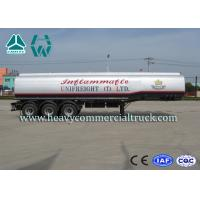 China A7 Anti Caustic Light Weight Fuel Tank Semi Trailer Reliable Structure on sale