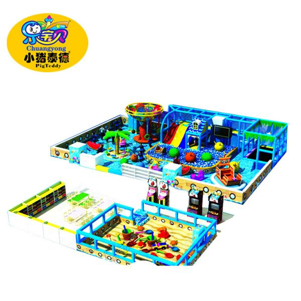 Quality Factory direct sales commercial kids soft indoor playground equipment for sale